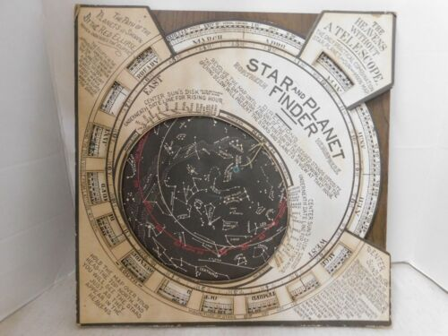 Antique 1906 The Barritt-Serviss Star And Planet Finder REPRODUCTION