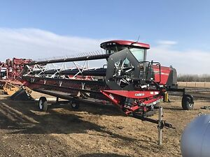 Selling Unreserved!! 2014 CASE IH WD 1203 25' Windrower