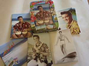 Elvis-Presley-Collectable-tin-with-12-Greeting-Cards-Blue-Hawaii