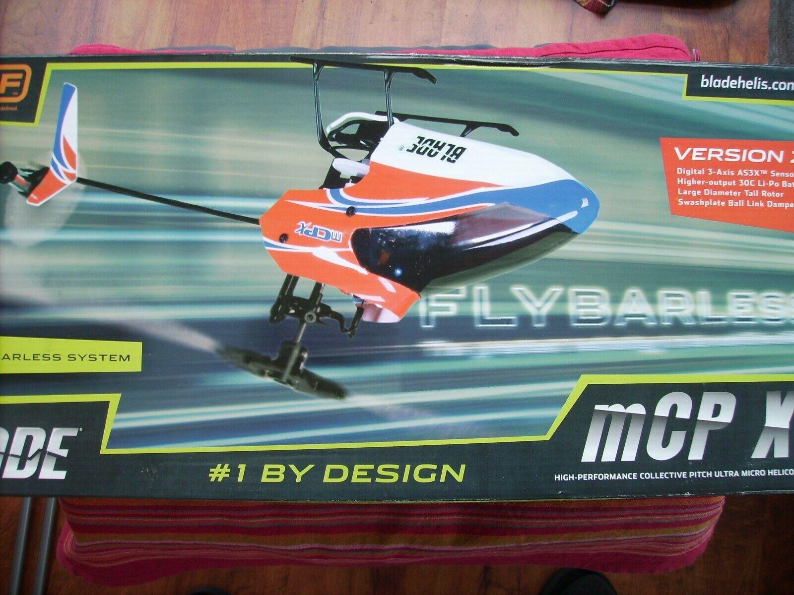 RC Heli Blade MCPX V2