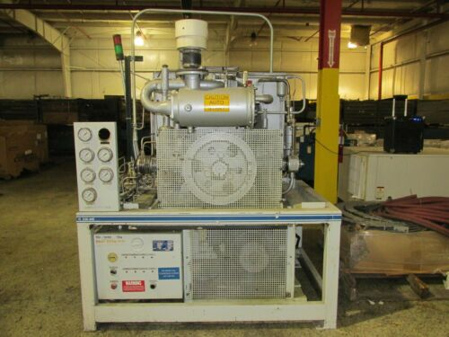 BAUER C230 CNG COMPRESSOR WITH CYLINDERS! EXC. USED COND! READY TO COMPRESS!