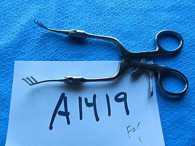 Karl Storz Ent 14cm Dalchow Retractor Adjustable Swivel Arms 219714k  New