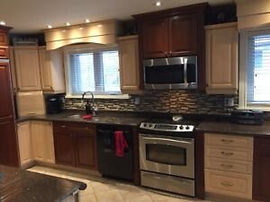 Used full kitchen cabinets