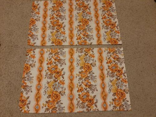 Vintage Floral Pillowcases (2) Wabasso