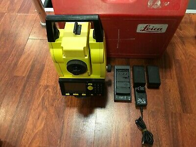 Leica Builder R200mp Power Set Theodolite R200m Calibrated Free Ship