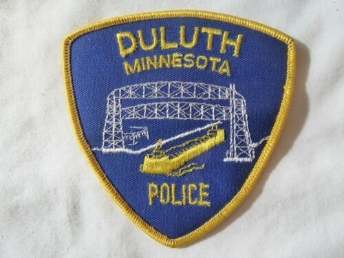 DULUTH MINNESOTA POLICE UNIFORM EMBLEM PATCH, NEW UNUSED!
