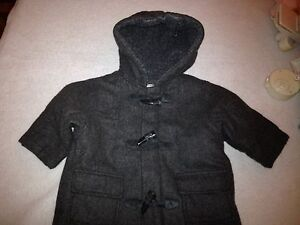 6 to 9 month size peacoat coat