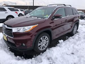 2016 Toyota Highlander XLE, Navigation, Leather, 3rd Row Seating