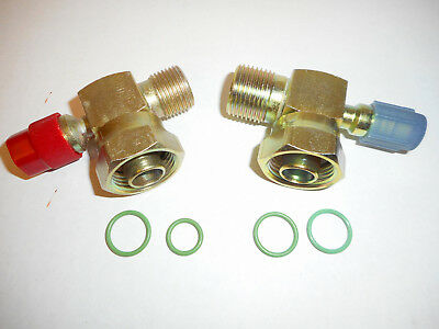 (YORK/TECUMSEH TUBE O RING A/C COMPRESSOR FITTINGS W/134A PORT #8 & #10 O RINGS  )