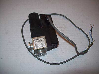 Edwards Pv10ek Vacuum Valve Nw10 Kf10 Flanges 100-127vac Coil P1073