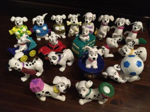 1996 McDonald's 101 Dalmatians Disney ornaments lot set of 19