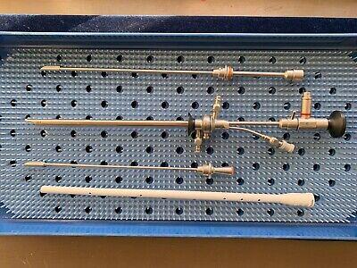 Karl Storz Comeg Rigid Laser Cystoscope Set Brand New