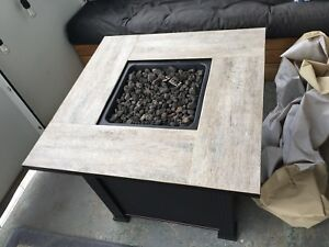 Fire Table with propane tank BOTH NEW