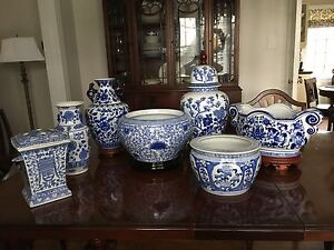 Blue and White Collection, Bombay Company.