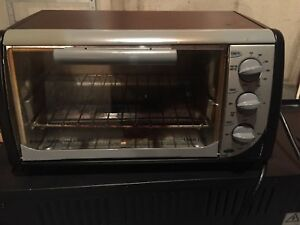 Toaster oven - Black and Decker
