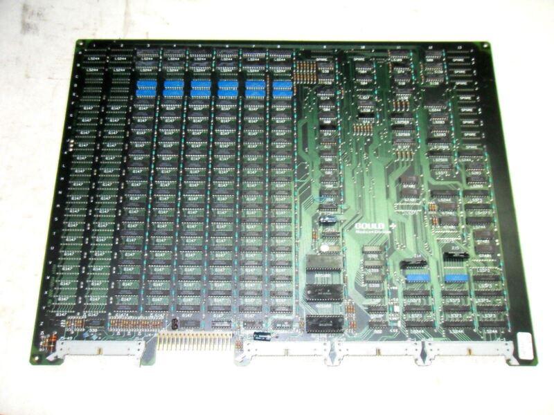 (A3) 1 GOULD MODICON AS-506P-F24 REV C21 MEMORY MODULE