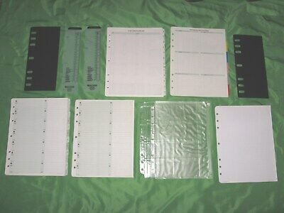 Folio 1 Year Undated Refill Lot 8.5x11 Day Timer Planner Monarch Franklin Covey