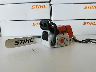 Stihl Chainsaw KeyChain KeyRing With Work Sound With Batteries And Hight - Chainsaw Sound
