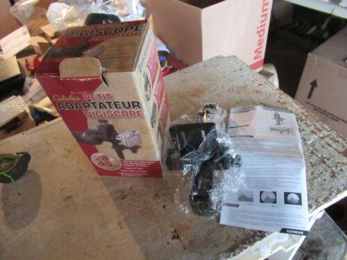 New in Box Cabelas Small Digiscope Adaptor   Lot 20-94-2