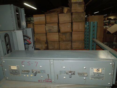 Westinghouse Fdp Unit Fdpt62x3 30/30a 3p 240v Single Fusible Panelboard Switch