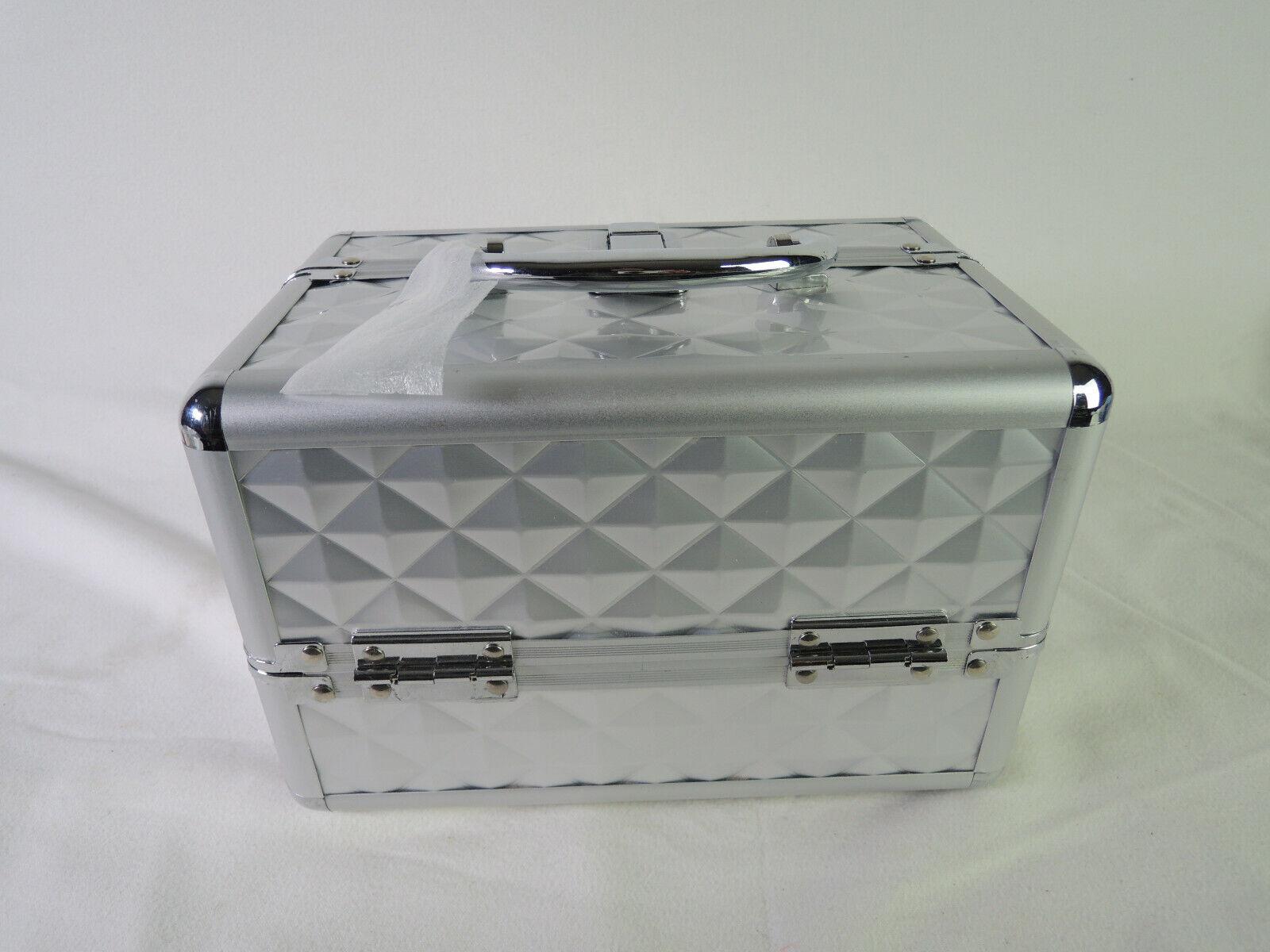 Giantex Portable Mini Makeup Train Case Professional Cosmeti