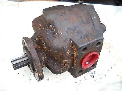 H19 Allis Chalmers Hd5 Hd6 Case Ih International Hydraulic Pump Tractomotive