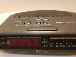 Sony Dream Machine AM/FM Clock Radio ICF-C370
