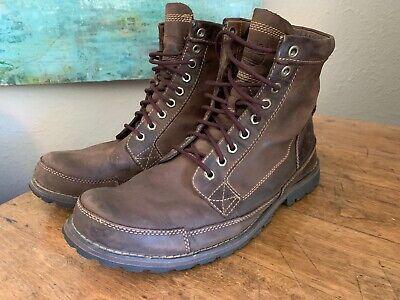 "Timberland Original 6"" Earthkeeper Brown Leather Chukka Boots #15550 Mens 10 M"