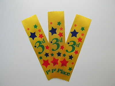 *CLEARANCE* 24 Satin 3rd PLACE RIBBONS student award recognition school event