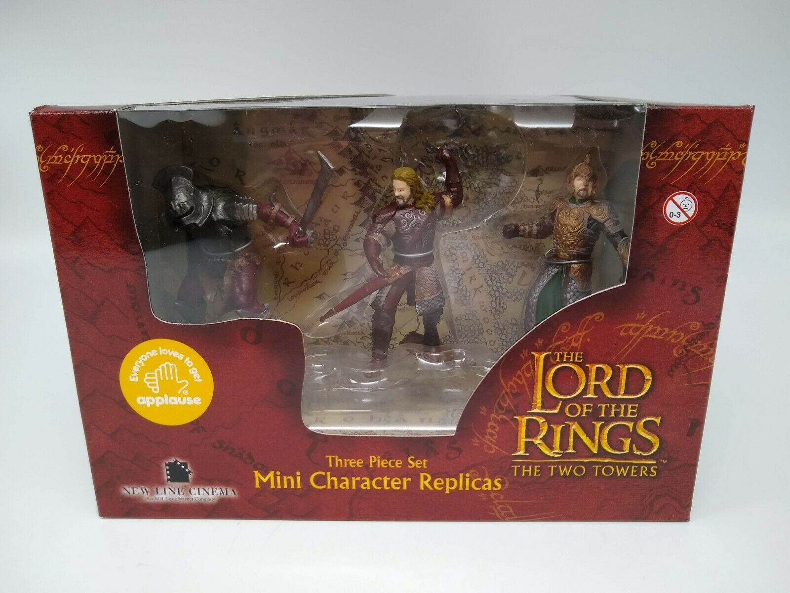 Applause Lord of the Rings 3 Piece Mini Characters Set #2 - Factory Sealed