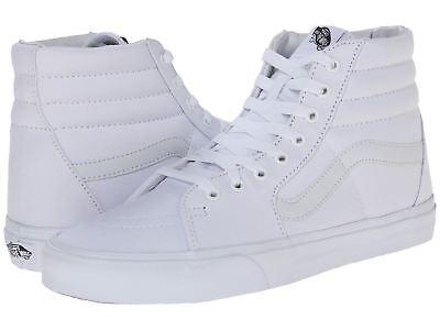 Vans Sk8 Hi White - Vans SK8 Hi True White True White Men's / Women's Skate Shoes VN000D5IW00 High T