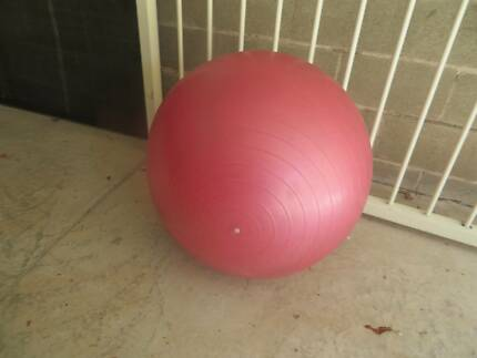 Swiss ball for exercise