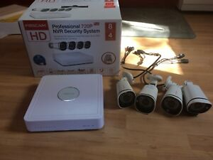 Set of 4 security cameras