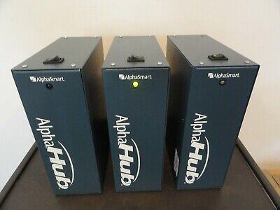 Lot Of 3 Alphasmart Acc-ah02-hb Alpha Hub Wstandard Power Cables