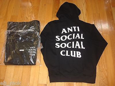 FREE SHIPPING AntiSocial Social Club Mind Games Hoody Size M L ASSC