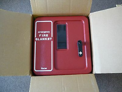 Encon 01338003 Fire Blanket Plastic Wall Case
