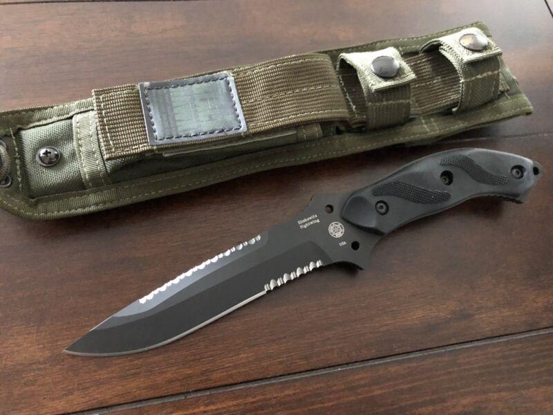 Masters Of Defense MOD Knives Blackhawk Elishewitz Nightwing Knife RARE