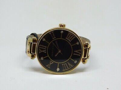 Anne Klein AK/1396 Genuine Leather Quartz Analog Ladies Watch