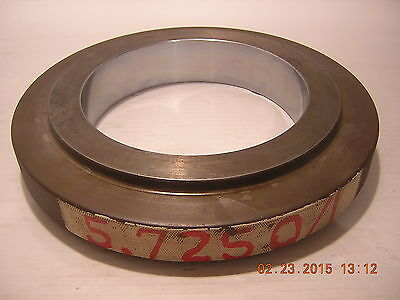 X Setting Ring Lg 5.725 Bore Gage Or Id Micrometer Standard
