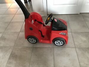 Child's push car. New. Used 2 times.