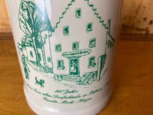 """1 Pint Beer Stein Mug Old Inn Dorfschanke in Bitburg Ltahl Germany Souvenir 5"""""""