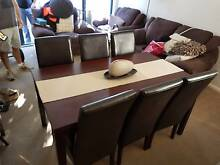 Dining Set & Microsuede 2.5 seater and 2 single couch Randwick Eastern Suburbs Preview