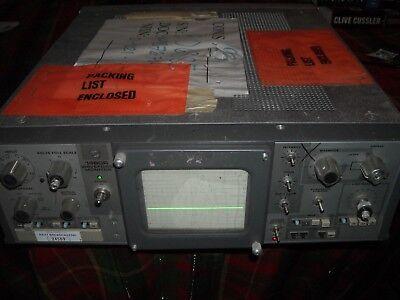 Tektronix 1480 R Waveform Monitor For Parts Or Repair