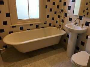 Whole Bathroom - includes toilet, sink, bath and tap ware Albert Park Port Phillip Preview