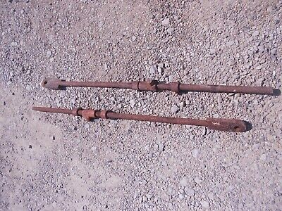 Allis Chalmers Wc Ac Tractor Original Cultivator Lift Arm Rods Rod