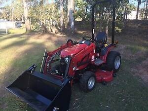 Mahindra eMax 22, loader, 4in1 and mid mount mower Beenleigh Logan Area Preview