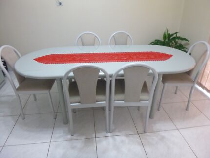 Dinning Table &Chairs Bonnyrigg Heights Fairfield Area Preview