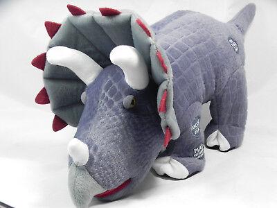 Pbc International Play Back Fact Talking Walking Triceratops Dinosaur Plush