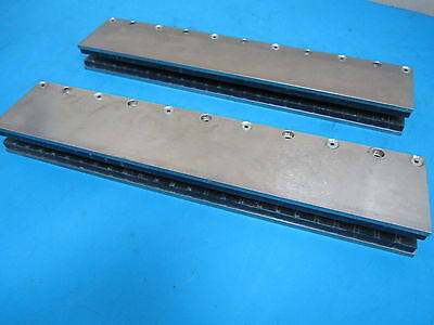 Pair Of Anorad Corp. 14 34 Magnetic Rail For Air Bearing System 42669-375