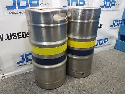 5.16 Gallon Stainless Steel Keg Used Quantity 1 Sku B13